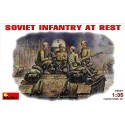 Soviet infantry at rest