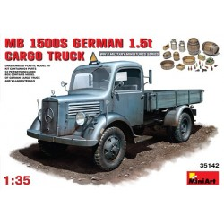 MB L1500S german 1,5 t cargo truck