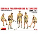 German paratroopers and tankers (Italy 1943)