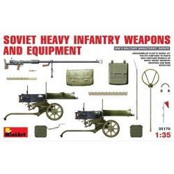 Soviet heavy infantry weapons and equipment
