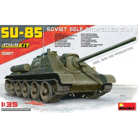 Su-85 soviet self-propelled gun