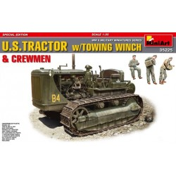 U.S. Tractor w/towing winch & crewmen