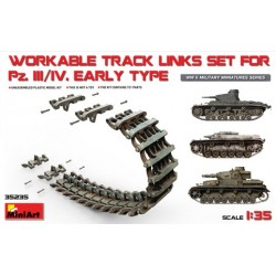 Workable track links set for Pz.III / Pz. IV early type