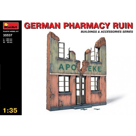German pharmacy ruin