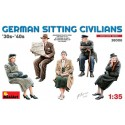 German sitting civilians '30s-'40s