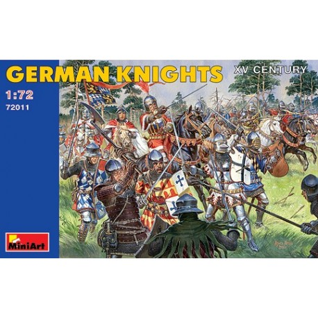 German knights. XV century