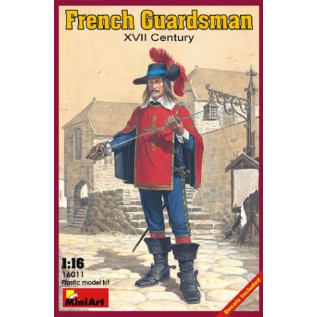 French guardsman. XVII century