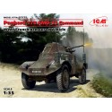 Panhard 178 AMD-35 Command, WWII French Armoured Vehicle