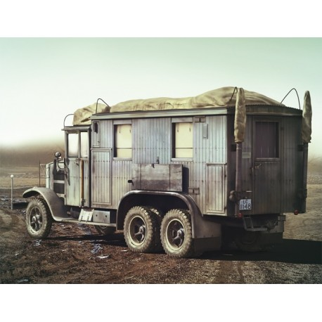 Krupp L3H163 Kfz.72, WWII German Radio Communication Truck