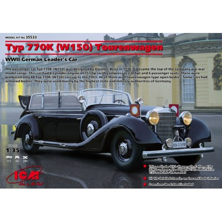 Typ 770K (W150) Tourenwagen, WWII German Leader's Car