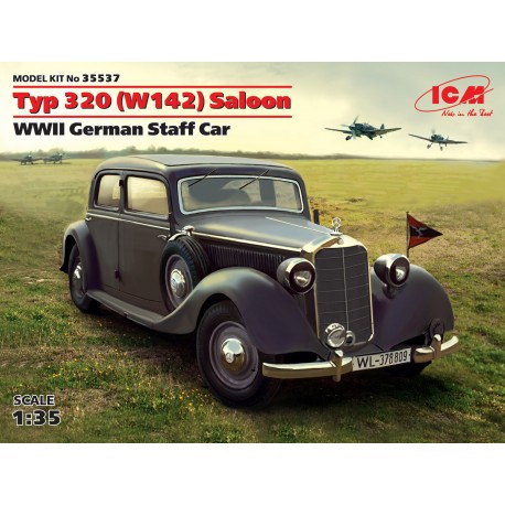 Typ 320 (W142) Saloon, WWII German Staff Car