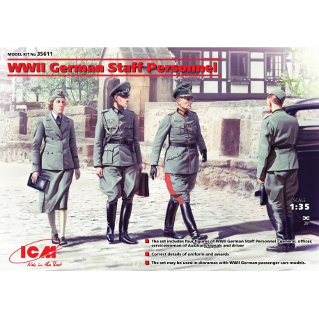WWII German Staff Personnel