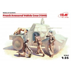 French Armoured Vehicle Crew (1940), 4 figures