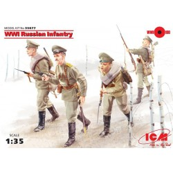WWI Russian Infantry, 4 figures