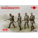 German Infantry (1914), 4 figures
