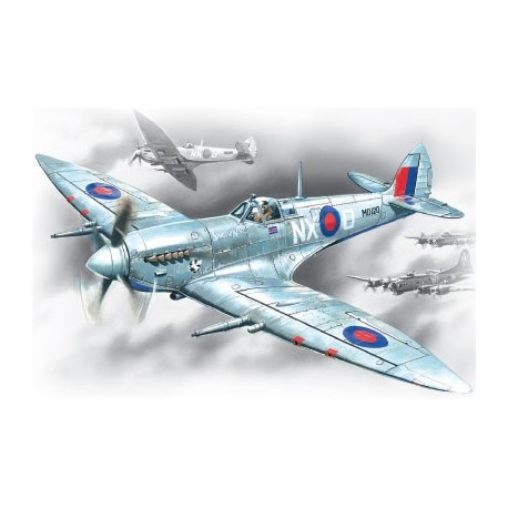 Spitfire Mk.VII, WWII British Fighter