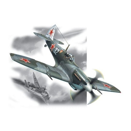 Spitfire LF. IXE, WWII Soviet Air Force Fighter