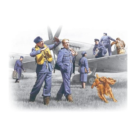 RAF Pilots and Ground Personnel (1939-1945)