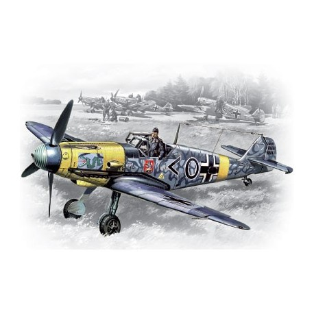 Messerschmitt Bf 109F-2, WWII German Fighter