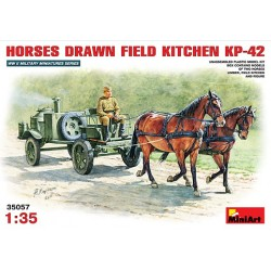 Horses drawn field kitchen KP-42