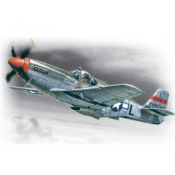 Mustang P-51C, WWII American Fighter
