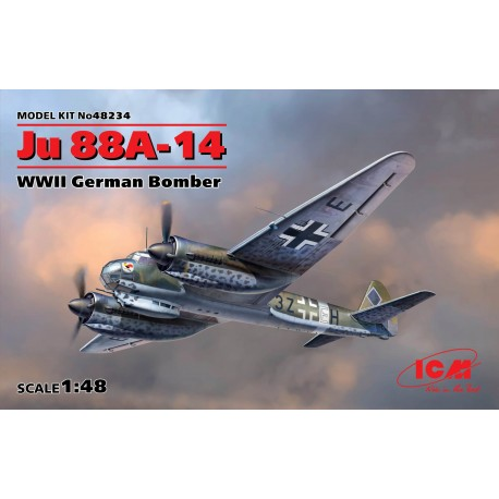 Ju 88A-14, WWII German Bomber