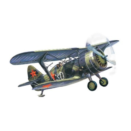 I-15 bis WWII Soviet Fighter-Biplane