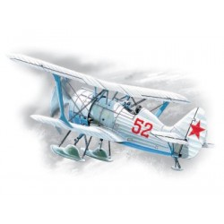 I-15 bis WWII Soviet Fighter-Biplane (winter version)