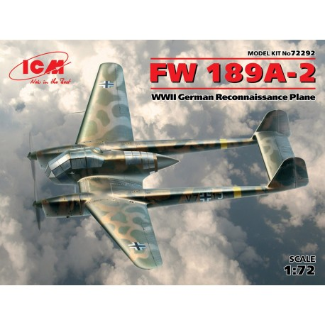 FW 189A-2, WWII German Reconnaissance Plane