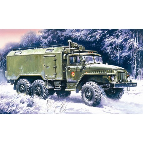 Ural-375A Command Vehicle.