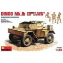 Dingo Mk.1B british armored car w/crew
