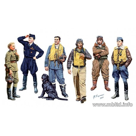 Famous pilots of WW2. Kit 1