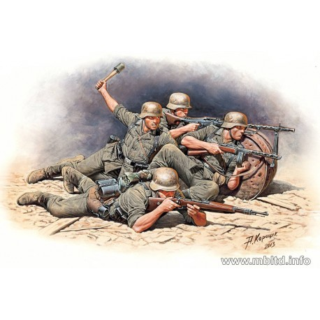German Infantry Defense, Eastern Front Battle Series, Kit 1