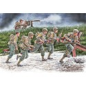 Move, move, move!!! US Soldiers, Operation Overlord period, 1944