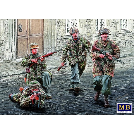 German Paratroopers. WW2 era