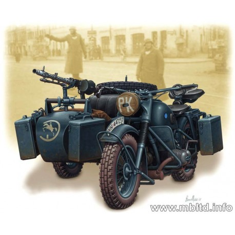 German motorcycle, WW2