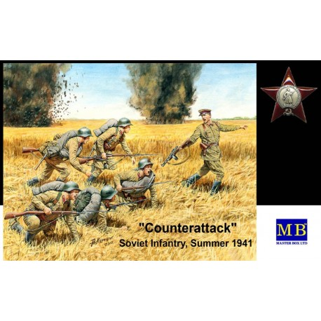 Counterattack, Soviet Infantry, Summer 1941