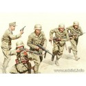 German Infantry, DAK, WW2, North Africa desert battles series