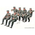 """German Infantry """"Off to the front"""" Vehicle riders, WW2 Era"""