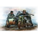 German Motorcyclists, WW2 era