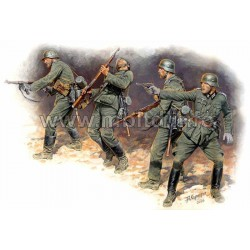 Frontier fight of summer 1941, German Infantry