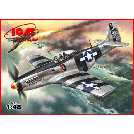 Mustang P-51K - WWII American Fighter