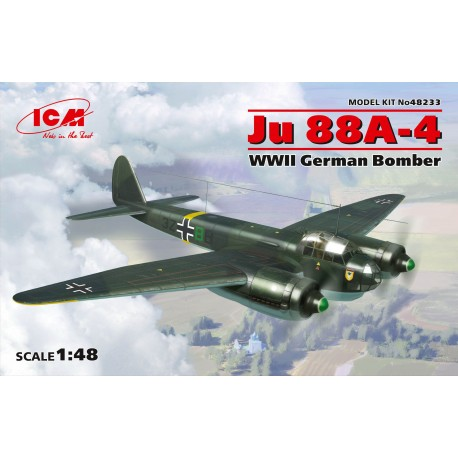 Ju 88A-4, WWII German Bomber