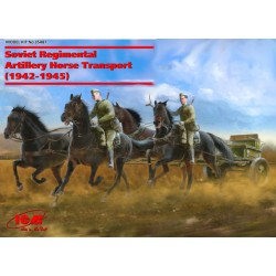 Soviet Regimental Artillery Horse Transport (1943-1945)