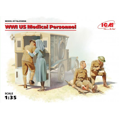 US Medical Personnel, WWI