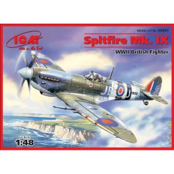 Spitfire Mk.IX, WWII British Fighter