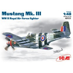 Mustang Mk.III, WWII RAF Fighter