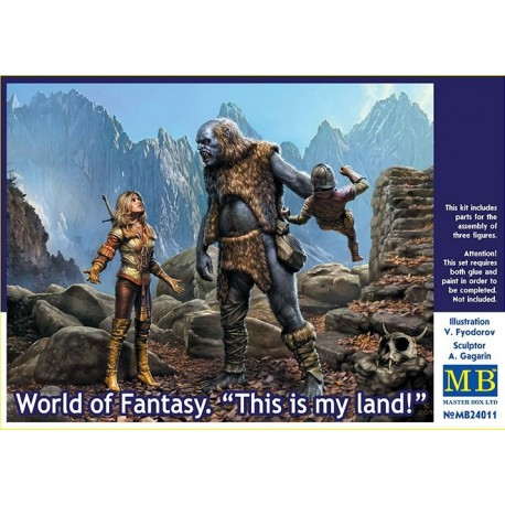 World of Fantasy. This is my land!