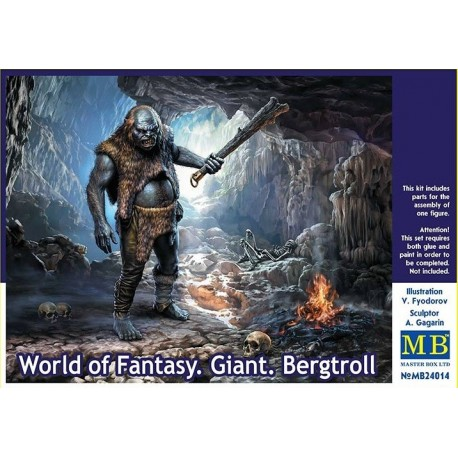 World of Fantasy. Giant. Bergtroll