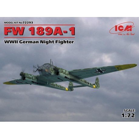 FW 189A-1, WWII German Night Fighter
